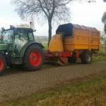 Bermmaaien biomassa bodemverbeteraar